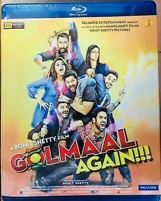 Golmaal Again Hindi Blu Ray Ajay Devgn Parineeti Chopra Bollywood Comedy Film