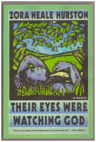 Their Eyes Were Watching God by Zora Neale Hurston PAPERBACK Southern woman