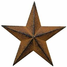 Metal Rustic Star Wall Decor Home Outdoor Hanging Barn Small 8 Inch Steel  New