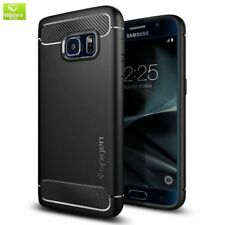 Spigen Rugged Armor Resilient Black Case for Galaxy S7