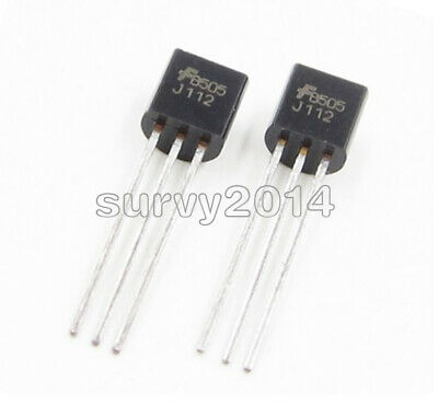 5PCS J112 FSC TO92 N–Channel JFET Transistor NEW TO-2 S8 BEST PRICE