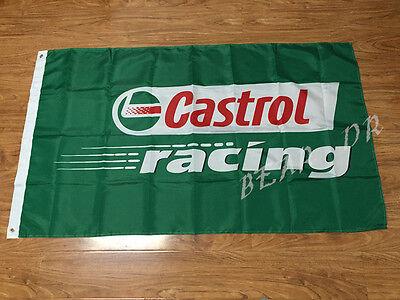 Castrol Racing Banner 3x5 Feet flag