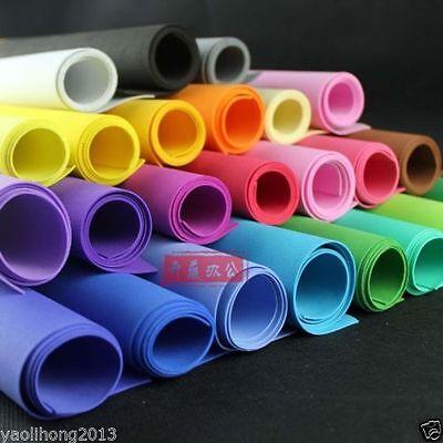"1-2PCS Funky Foam Sheet Craft EVA Foam 20/""x20/"" 50x50cm,Thk 2mm,Choice Colours"
