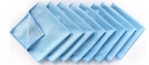 8-Pack-MicroFibre-Cleaning-Glass-Cloths-12-034-x-12-034-Car-Window-TV-Lens-Towel-Cloth