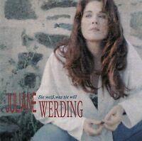 JULIANE WERDING : SIE WEISS WAS SIE WILL / CD - TOP-ZUSTAND