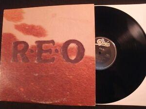REO-Speedwagon-R-E-O-1976-Epic-Vinyl-12-039-039-Lp-VG-Prog-Rock-AOR