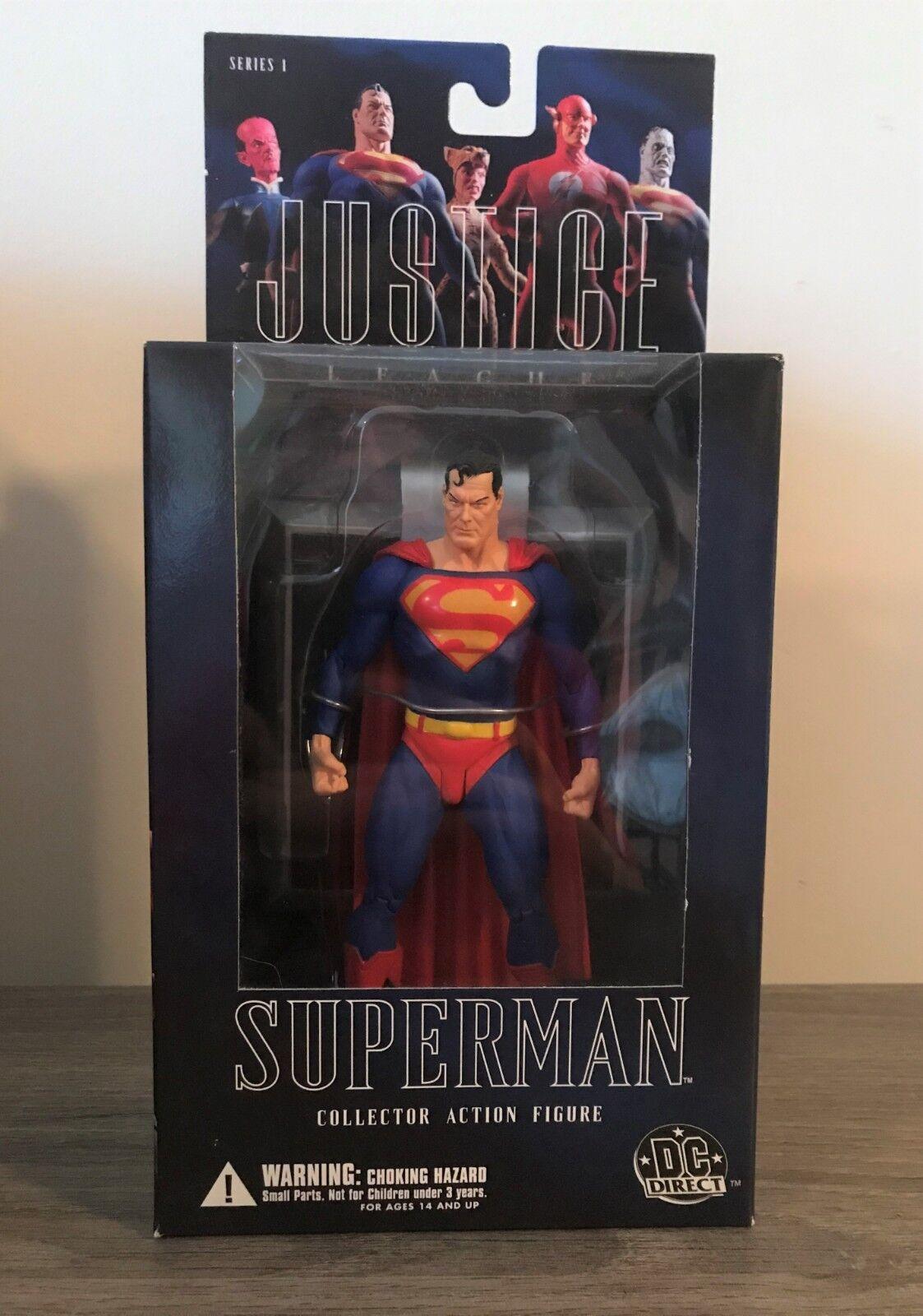 - direkte gerechtigkeitsliga reihe 1, superman - figur, alex ross