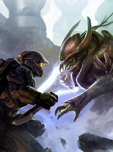 Monn I Zar Demon Duel Covenant Creature Of Legend Halo Fine Art
