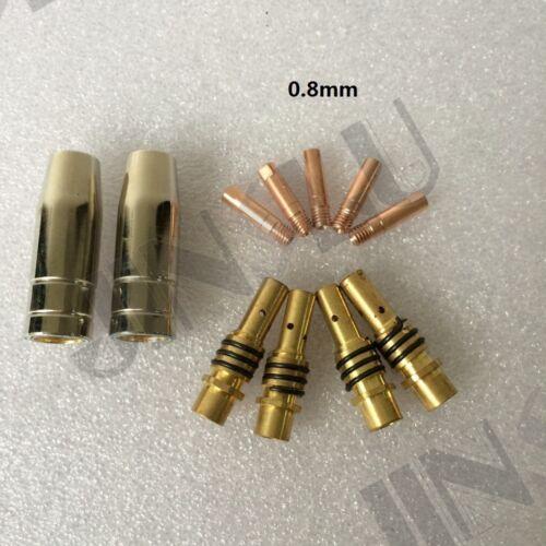 BW MB 15AK 15 AK 0.8mm Tip Nozzle Holder Kit ERGOPLUS Binzel MIG Torch