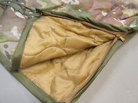 Multicam Military Poncho Liner With Zipper - Military Woobie With Zipper