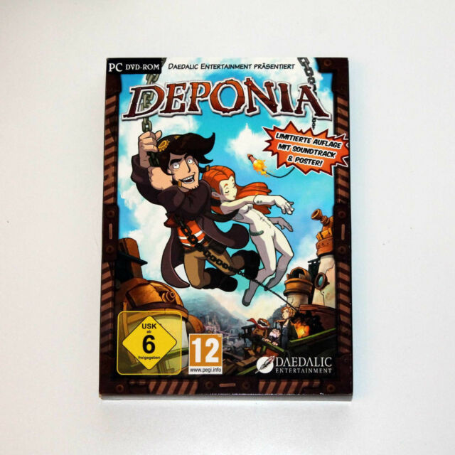 Deponia (PC) // Limitierte Auflage **TOP**