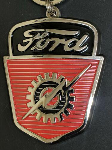 53-56 Ford F-100 Hood Emblem//Keychain//Toolbox Magnet H13