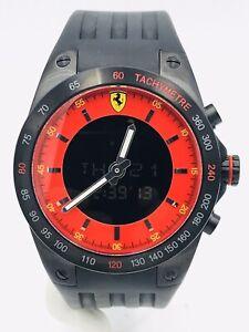 Watch-Scuderia-Ferrari-Anadig-Swiss-Made-FE3KKR-398-45mm-on-sale-New