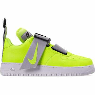 Nike Af1 Air Force 1 Utility Volt White Black Ao1531 700 Mens Shoes Ebay