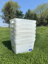 Uline Box Packaging Space Age Totes 18x13x12 6pack