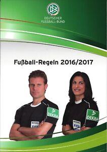 Details Zu Dfb Fussball Regeln 2016 17 Neu 128 Seiten Regelheft Sammlerstuck