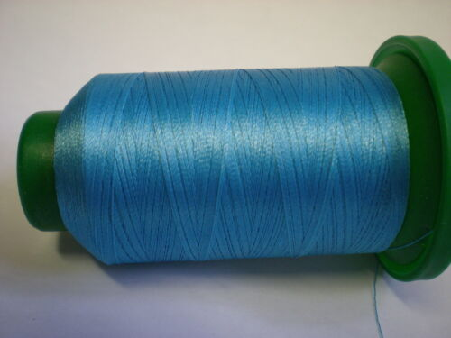 ISACORD MACHINE EMBROIDERY THREAD 1000M TURQUOISE BLUE 4111