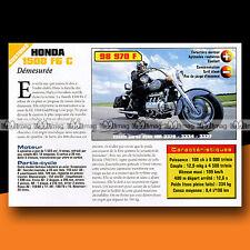★ HONDA GL 1500 C F6 C F6C VALKYRIE ★ 1999 Essai Moto / Original Road Test #c510