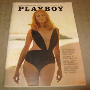 PLAYBOY (Aug 1968) Good+ Condition Magazine - GALE OLSEN PMOTM - VARGAS ART