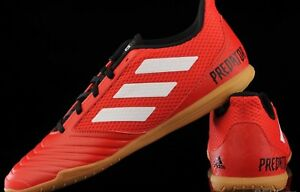 a3eebb3c17d8 adidas Predator Tango 18.4 Sala Red Indoor Football Trainers Size ...