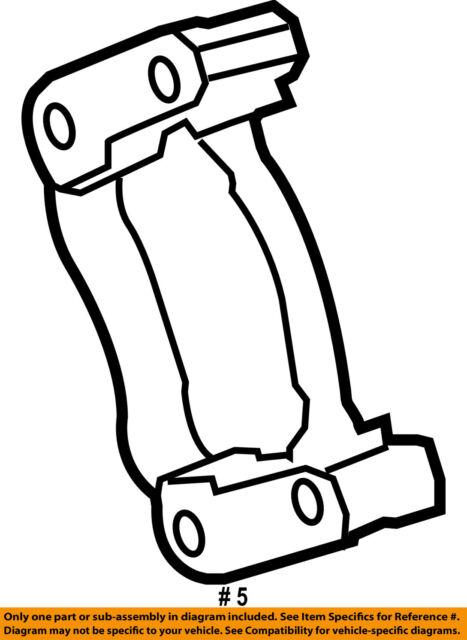 Oem Mopar Rhlh Rear Brake Wheel Cylinder Dodge Caravan Chrysler