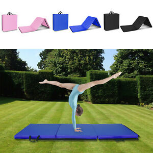 2-039-x5-039-Exercise-Non-Slip-Tri-Fold-Thick-Foam-Gym-Mat-For-Gymnastics-Yoga-Fitness