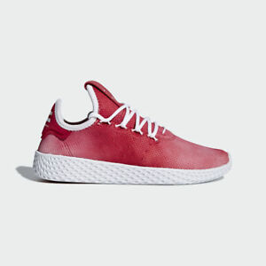 e7873a087 NEW ADIDAS YOUTH PHARRELL WILLIAMS PW TENNIS HU SHOES  CQ2301  RED ...