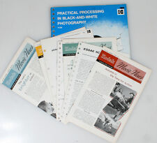 PHOTOGRAPHICA LITERATURE BOOKLETS/PAMPHLETS VINTAGE, LOT OF 10