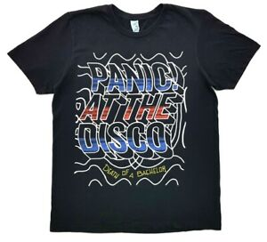 Panic-at-the-Disco-Death-of-a-Bachelor-Tee-Black-Size-M-Mens-T-Shirt
