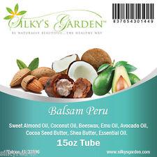 All Natural Shea Butter & Emu Oil Lip Balm - Balsam Peru