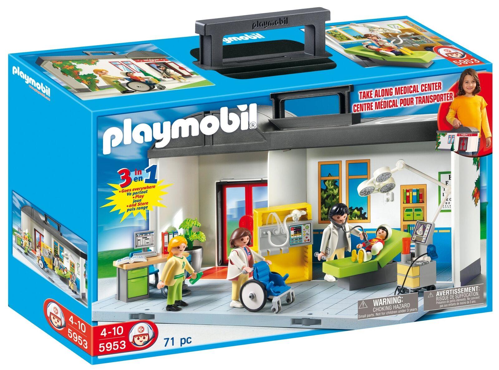 Playmobil 5953 - Ospedale portatile  X9E