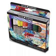 Daler Rowney Georgian Oil Starter Set 6 x 22ml Tubes