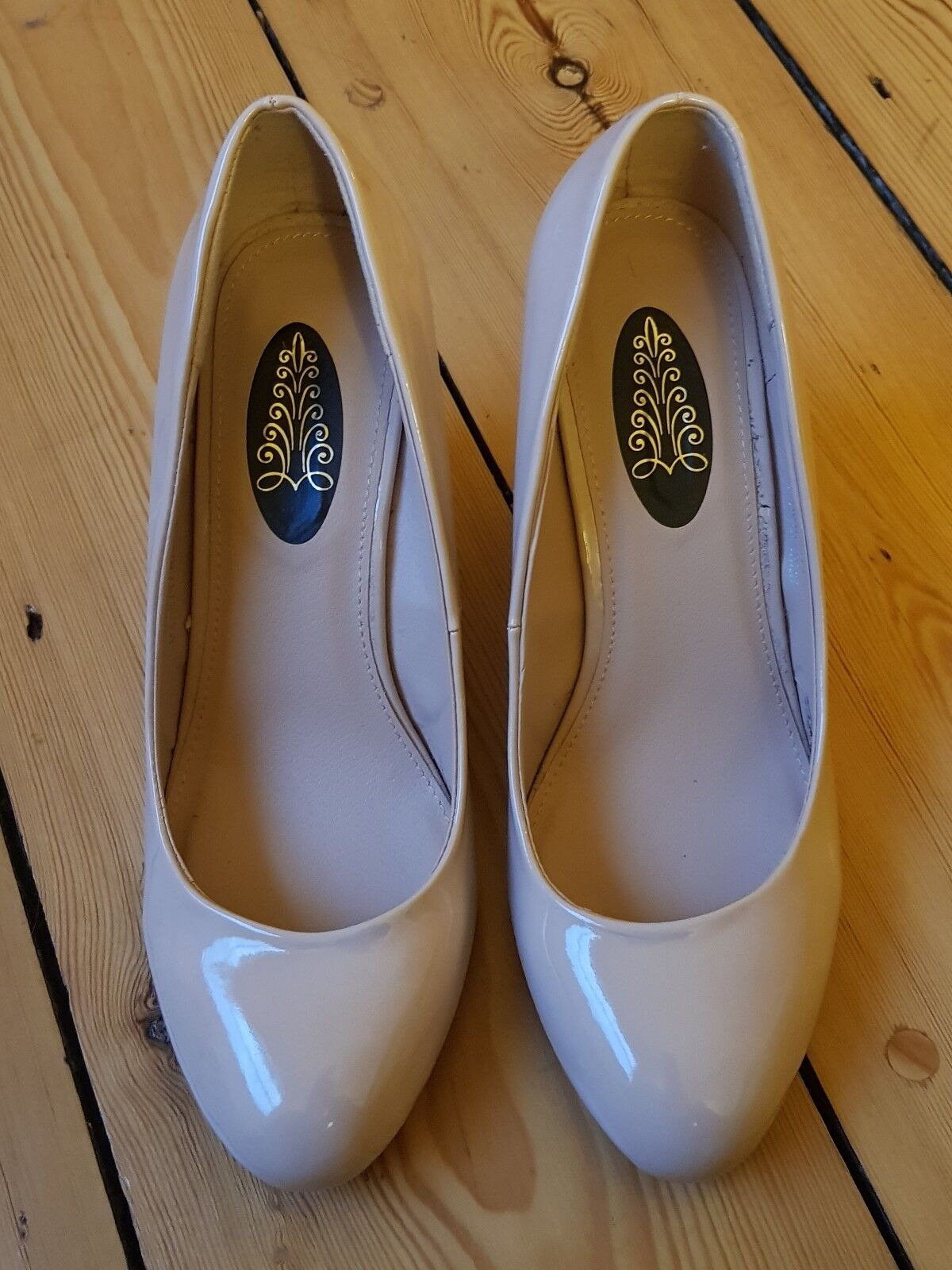 Nude Wedges Dgoldthy Perkins Size 7