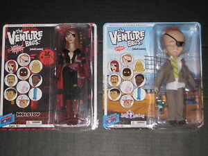 The Venture Bros Series 7 Figure Set Molotov Billy Quizboy New Hot