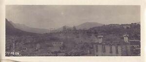 Panorama-City-IN-Ruins-Greece-Macedonia-Balkan-WW1-Vintage-Analogue-C-1917