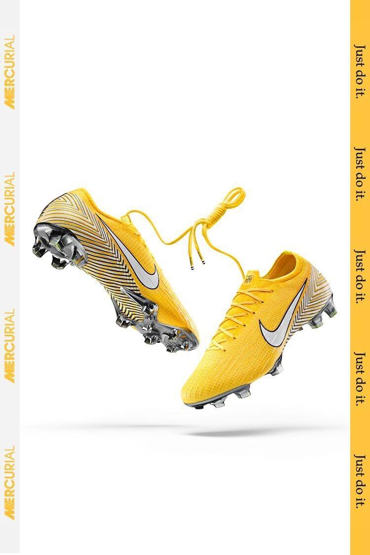 Nike Mercurial jogo 'EU AM Vapor 12 Elite NJR FG EU41 giallo Bianco Rrp