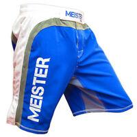 Blue Hybrid Mma Board Shorts - Meister Fight Training Boxing S M L Xl Xxl