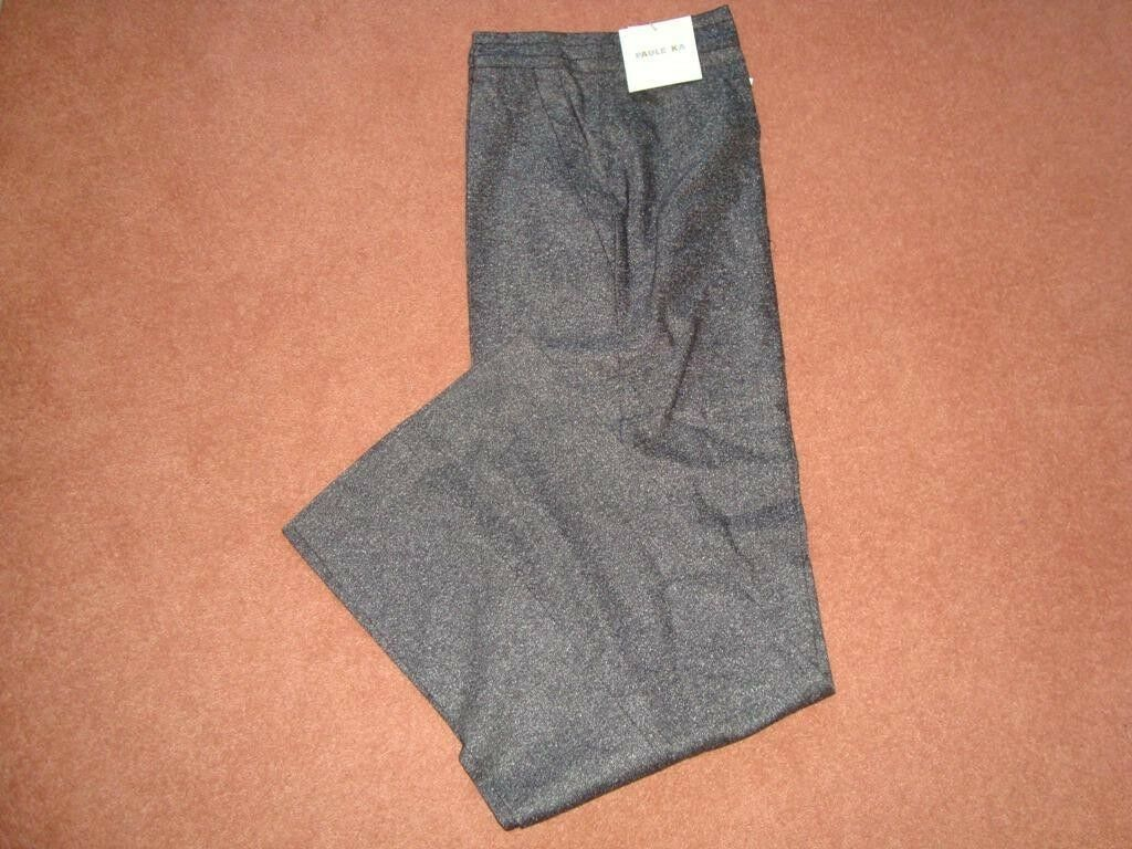 PAULE KA  Wool and Silk Trousers Size 14 BNWT