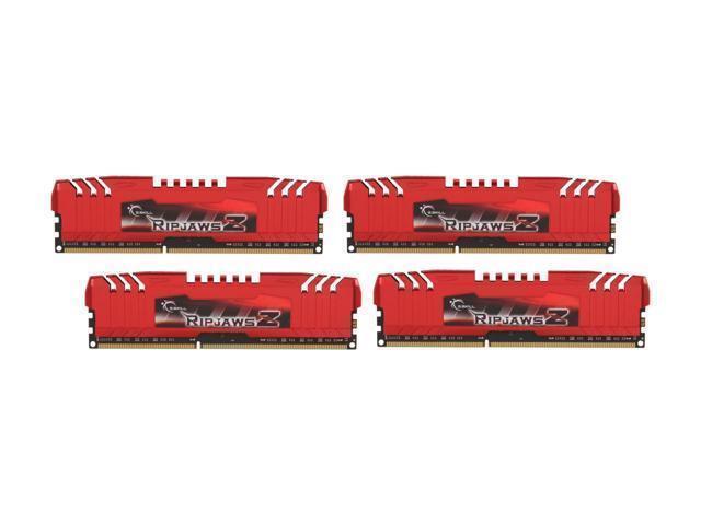 4 x 4 GB SKILL 16GB UDIMM 1600 MHz PC3-12800 DDR3 F3-12800CL9Q-16GBRL G