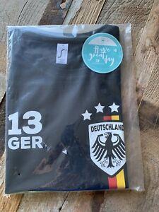 Women-s-German-Football-Team-Fashion-T-Shirt-Size-M-Medium