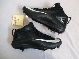363a320a2008 Nike Zoom MIKE TROUT 3 Black ASG All-Star Game Baseball Cleats sz 12 ...