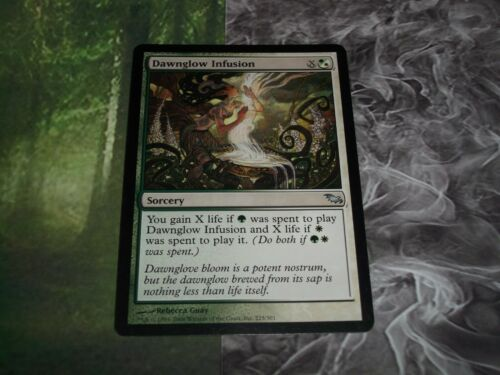 MTG 2008 Shadowmoor Multicolor Sorcery Dawnglow Infusion Card