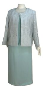 Teal-Mint-Mother-Of-The-Bride-3-Piece-Suit-Outfit-Wedding-Evening-Cruise-Church