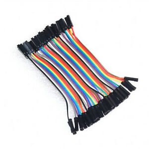 40pcs-Dupont-Cable-10cm-2-54mm-1p-female-to-Female-arduino-raspberry-pi-jumper-B