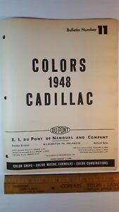 1948-CADILLAC-Original-Exterior-Color-Paint-Chips-Very-Good-Condition-US