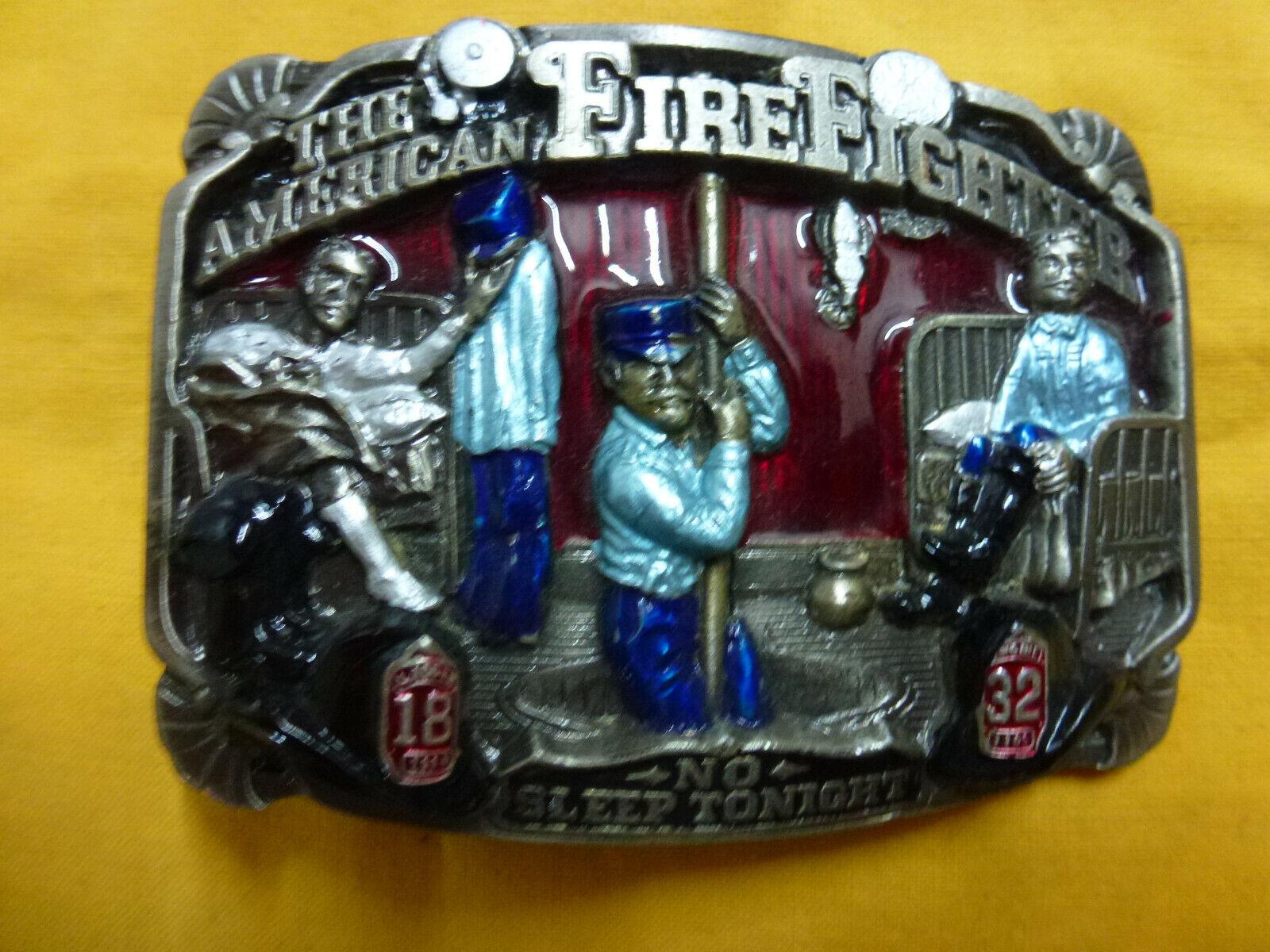 Buckle Motiv Feuerwehr, Amercan Firefighter Cowboy,Gürtelschnalle,Biker, Angler