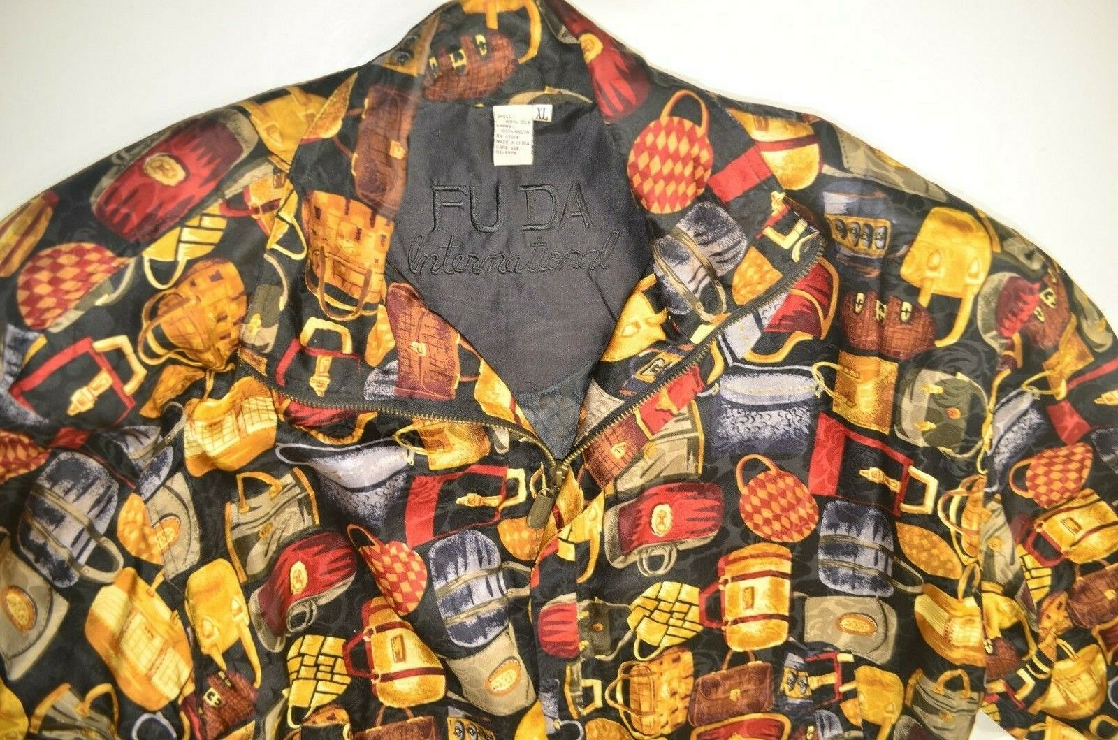 VINTAGE Fuda International Women's 100% Silk Jack… - image 3