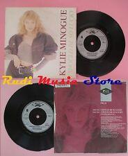 LP 45 7'' KYLIE MINOGUE I should be so lucky 1987 PWL 8  no cd mc dvd