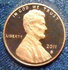 2011 S LINCOLN CENT SHIELD GEM PROOF DEEP CAMEO ROLL PENNY 50