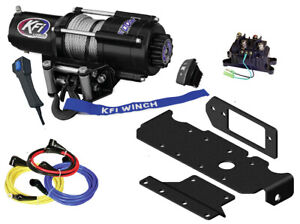 KFI-U45-R2-4500lb-Winch-with-Mount-For-Honda-SXS1000-Pioneer-1000-amp-1000-5